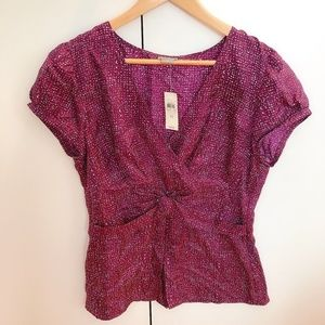 New With Tag-- NWT Ann Taylor Women Blouse Top 12